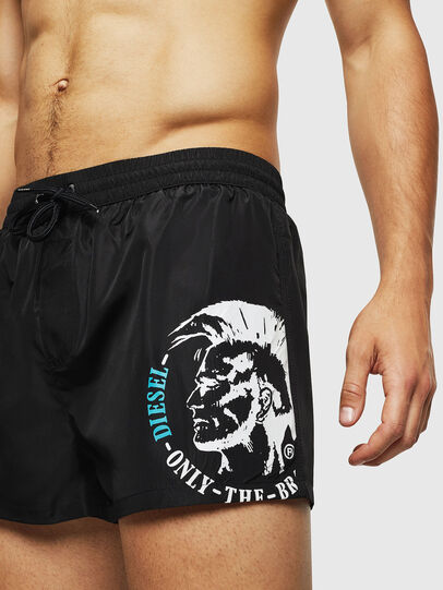 Diesel - BMBX-SANDY 2.017, Black - Swim shorts - Image 3