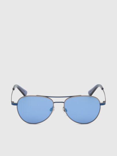 Diesel - DL0291, Blue/Grey - Kid Eyewear - Image 1