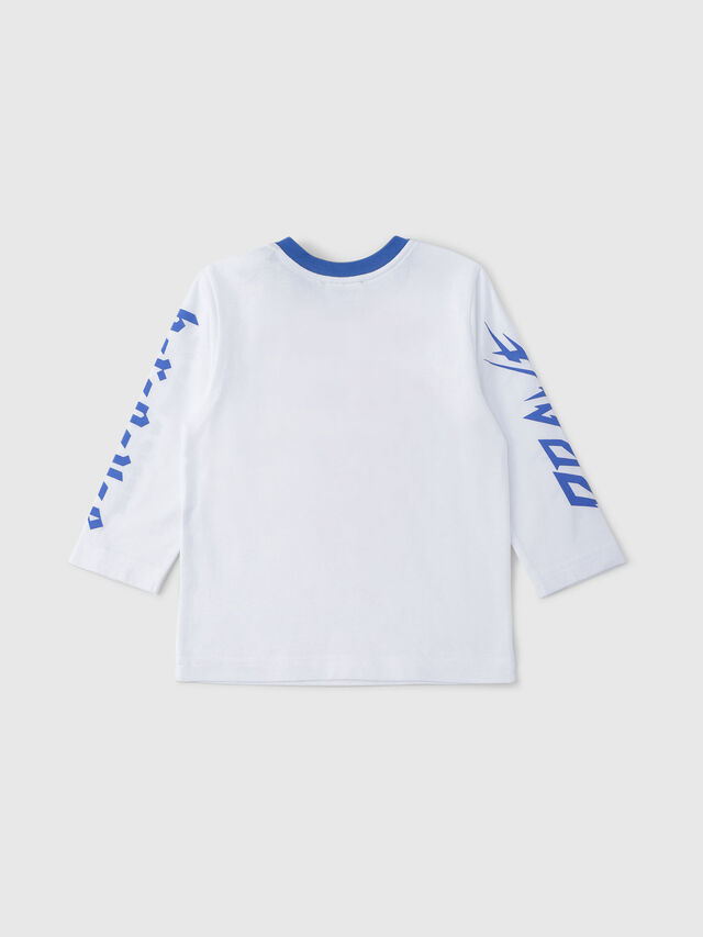 Diesel - TENNUB, White/Red/Blu - T-shirts and Tops - Image 2