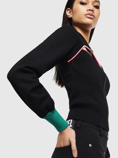 Diesel - M-LANAE, Black - Knitwear - Image 4