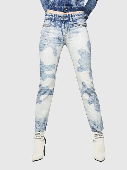 Diesel - D-Rifty 0890P, Light Blue - Jeans - Image 1