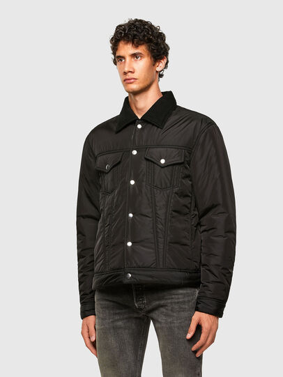 Diesel - W-JORGE, Black - Winter Jackets - Image 5
