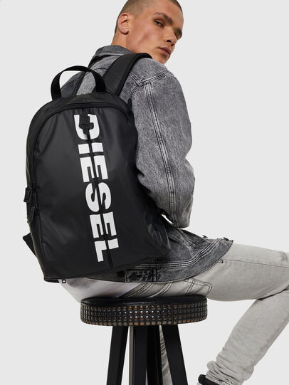 Diesel - BOLD BACK II, Black - Backpacks - Image 7