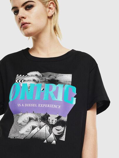 Diesel - T-SHALIE, Black - T-Shirts - Image 4