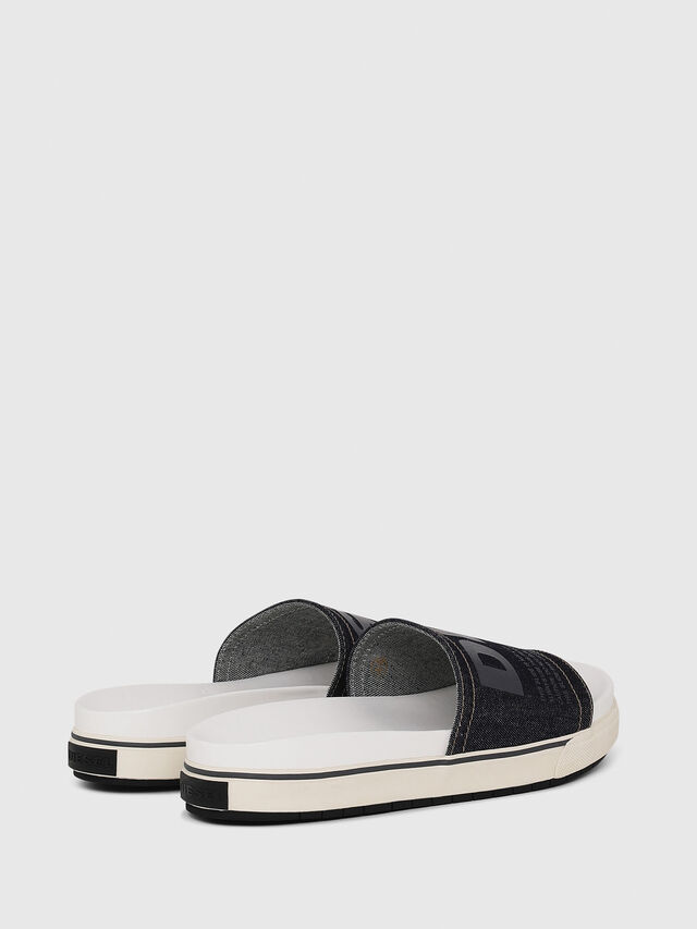 Diesel - SA-GRAND SLIDE, White/Blue - Sandals - Image 2