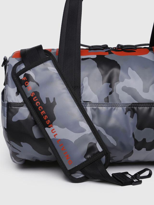 Diesel - F-BOLD DUFFLE, Grey Melange - Travel Bags - Image 3