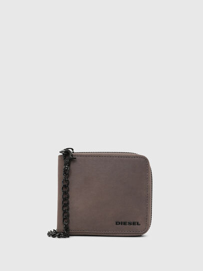 Diesel - ZIPPY HIRESH S WITH, Dark grey - Zip-Round Wallets - Image 1