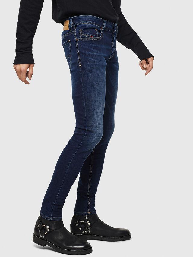 Diesel Sleenker 084RI, Dark Blue - Jeans - Image 4