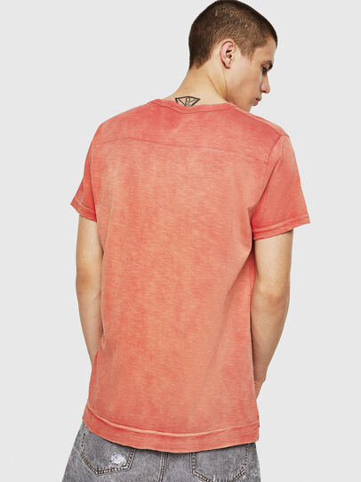 Diesel - T-DIEGO-V-CUT, Fire Red - T-Shirts - Image 2