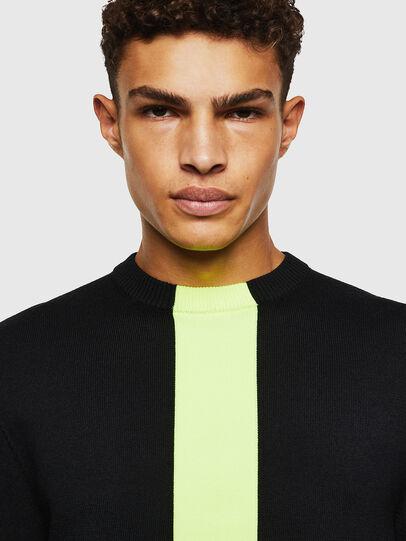 Diesel - K-TAPEX, Black - Knitwear - Image 3