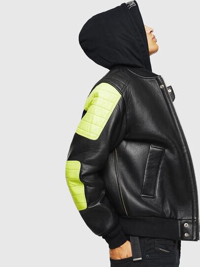 Diesel - L-BRANDO,  - Leather jackets - Image 6