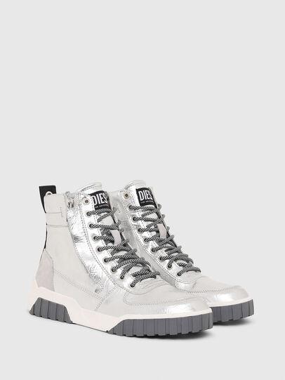 Diesel - S-RUA MID W, Silver - Sneakers - Image 2