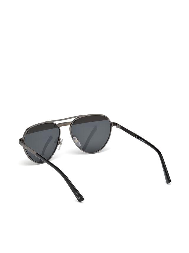 Diesel - DL0261, Black/Grey - Eyewear - Image 4