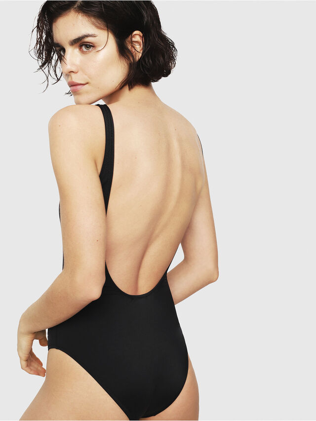 Diesel - BFSW-FLAMNEW, Black - Swimsuits - Image 2