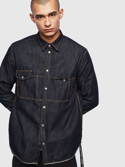 Diesel - D-MILLY,  - Denim Shirts - Image 1