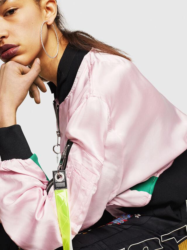 Diesel - G-KINSLEE-A, Pink - Jackets - Image 3