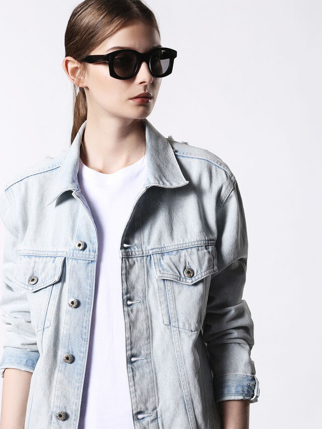 Diesel - DL0226, Black - Sunglasses - Image 3