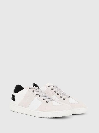 Diesel - S-MILLENIUM LC, White/Pink - Sneakers - Image 2