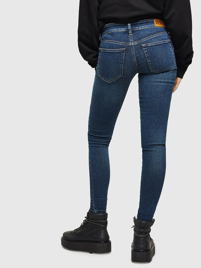 Diesel - Slandy Low 069KW, Dark Blue - Jeans - Image 2