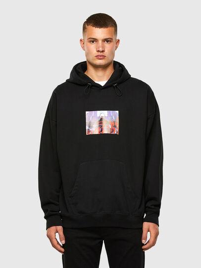 Diesel - S-UMMEREL, Black - Sweaters - Image 1