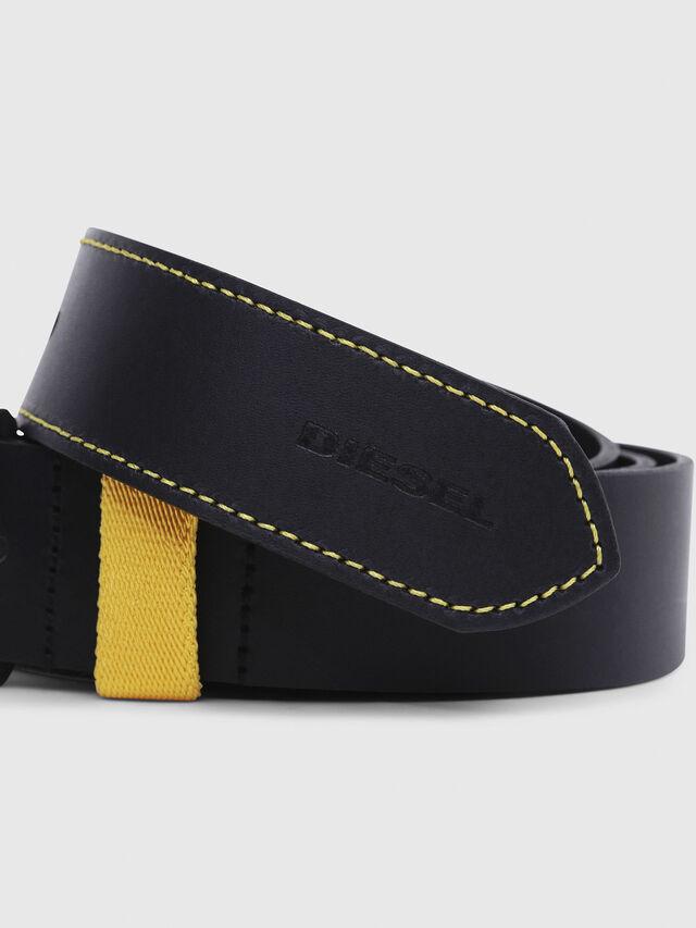 Diesel - B-ALANO, Black/Yellow - Belts - Image 2