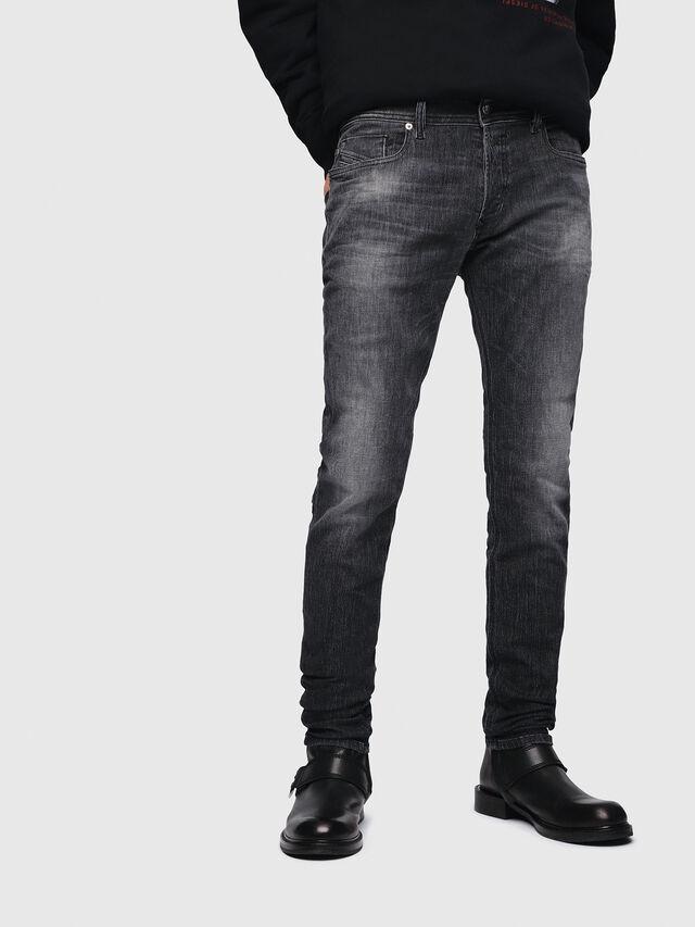 Diesel - Sleenker 089AA, Black/Dark grey - Jeans - Image 1