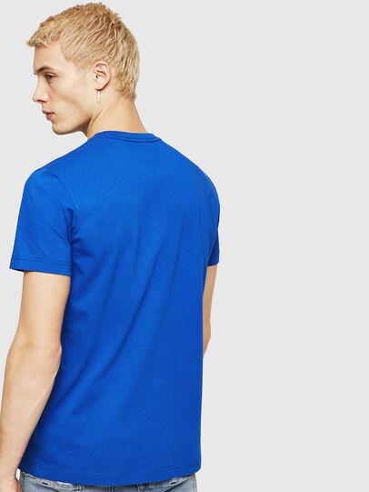 Diesel - T-DIEGO-DIV, Brilliant Blue - T-Shirts - Image 2
