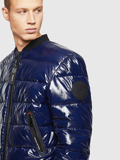 Diesel - W-ON, Blue - Winter Jackets - Image 4
