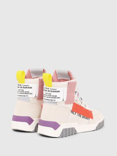 Diesel - S-RUA MID SP W, White - Sneakers - Image 3