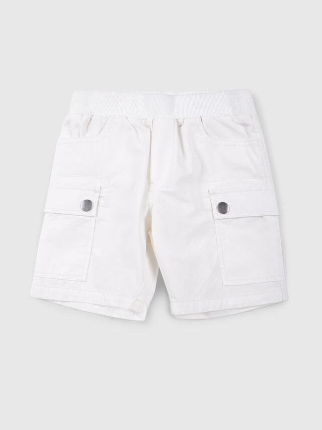 Diesel - PECCIB, White - Shorts - Image 1