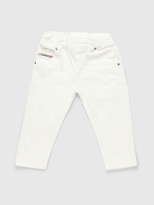Diesel - KROOLEY-JOGGJEANS-B-N, White - Jeans - Image 1