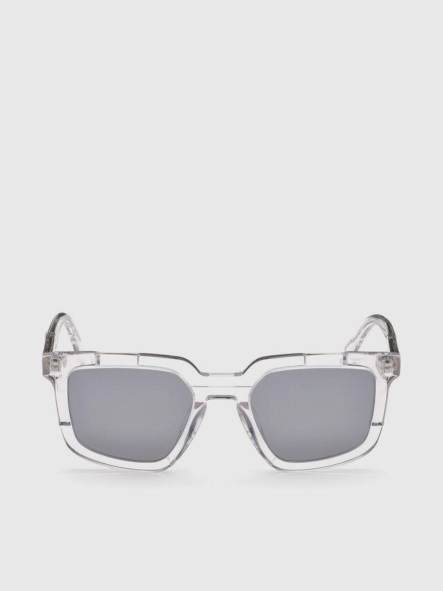 Diesel - DL0271, White - Sunglasses - Image 1