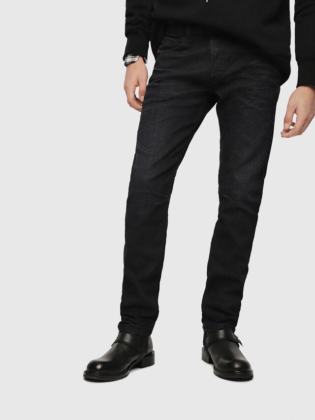 Diesel - Belther 087AU, Dark Blue - Jeans - Image 1