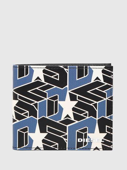 Diesel - HIRESH S, Black/Blue - Small Wallets - Image 1