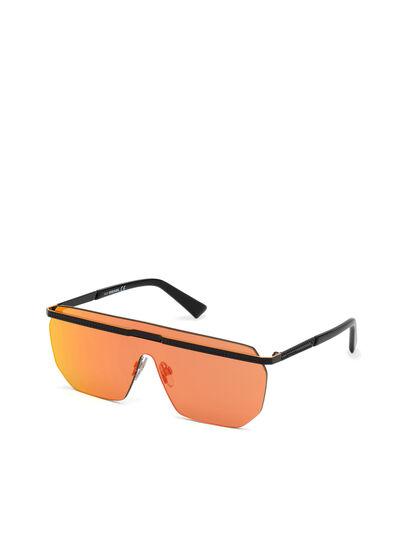 Diesel - DL0259, Orange/Black - Sunglasses - Image 2