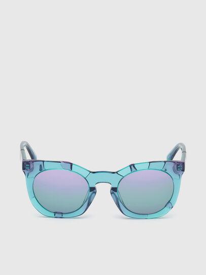 Diesel - DL0270, Azure - Sunglasses - Image 1