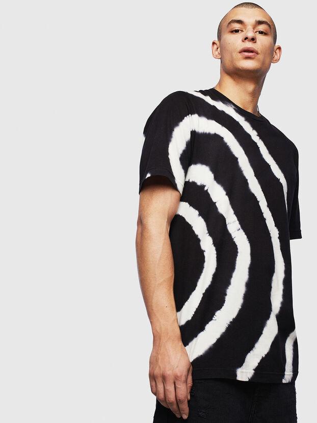 T-JUST-T16, Black/White - T-Shirts