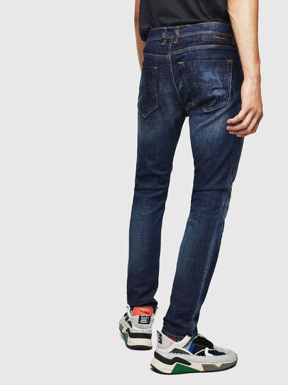 Diesel - Tepphar 087AT, Dark Blue - Jeans - Image 5