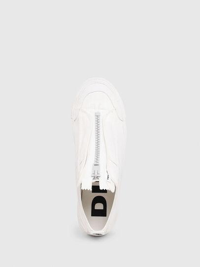Diesel - S-ASTICO LOW ZIP SP, White - Sneakers - Image 4