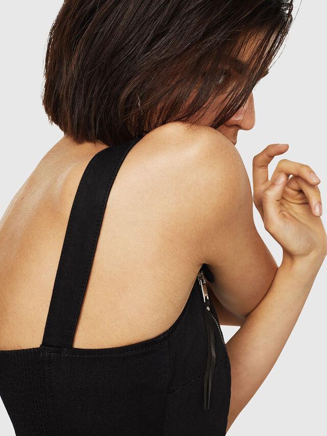 Diesel - D-ARTYN JOGGJEANS, Black - Dresses - Image 5