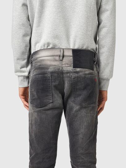 Diesel - D-Strukt JoggJeans® 09B04, Black/Dark grey - Jeans - Image 4
