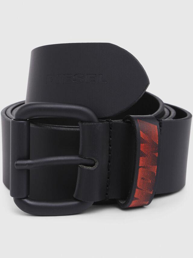 Diesel - SHOOTING 8, Black/Red - Belts - Image 2