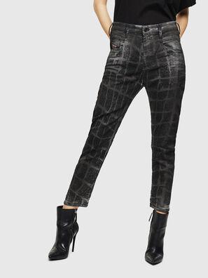 Fayza JoggJeans 0094M, Black/Dark grey - Jeans