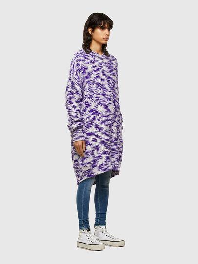 Diesel - M-HEATH, Violet/White - Knitwear - Image 6
