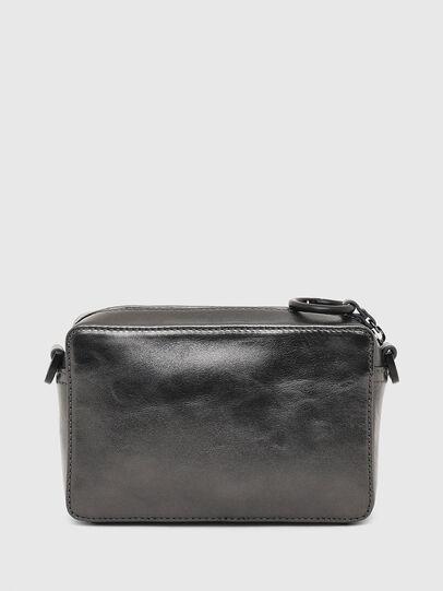Diesel - ROSA' CNY, Silver - Crossbody Bags - Image 3