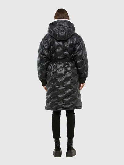 Diesel - W-LALLA, Black - Winter Jackets - Image 2