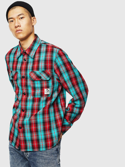 Diesel - S-GERRY-CHECK,  - Shirts - Image 1