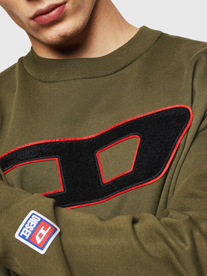 Diesel - S-CREW-DIVISION-D,  - Sweaters - Image 3