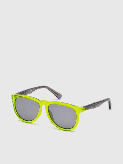 Diesel - DL0272, Yellow Fluo - Kid Eyewear - Image 2
