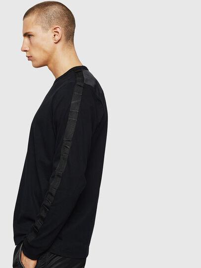 Diesel - T-JUST-LS-BX3, Black - T-Shirts - Image 3